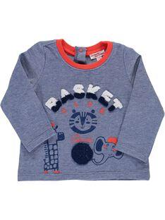 Baby boys' long-sleeved T-shirt CUDETEE1 / 18SG10F1TML099