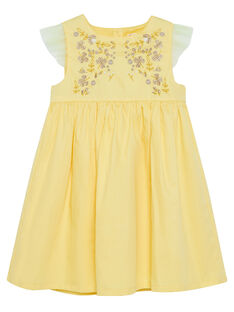 Yellow Dress JASOROB2 / 20S90181ROBB105