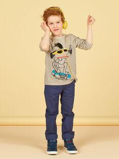 Dark gray pants - Child boy LOPOEPAN2 / 21S902Y2PANJ900