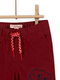 Boy's dinosaur pants MUPAPAN2 / 21WG10H1PAN719