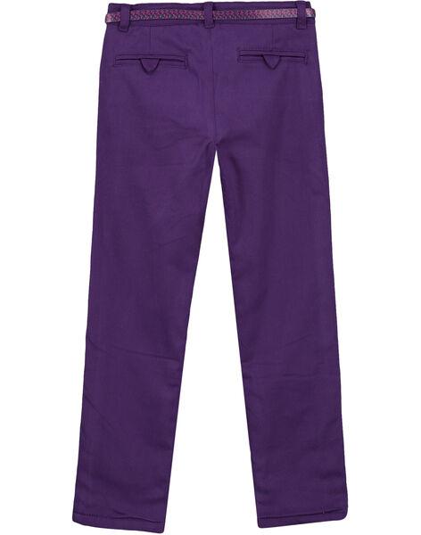 Purple pants GAVIOPANT2 / 19W901R2PAN708