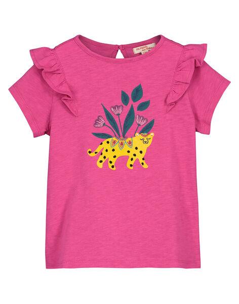 Girls' fancy T-shirt FATUTI3 / 19S901F3TMC712