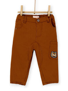 Brown PANTS KUSAPAN2 / 20WG10O2PANI809