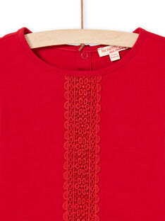 Red T-SHIRT MAJOSTEE5 / 21W90124TML511