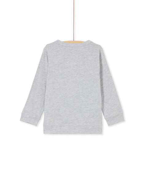 Heather grey T-SHIRT KOBRITEE1 / 20W902F2TML943