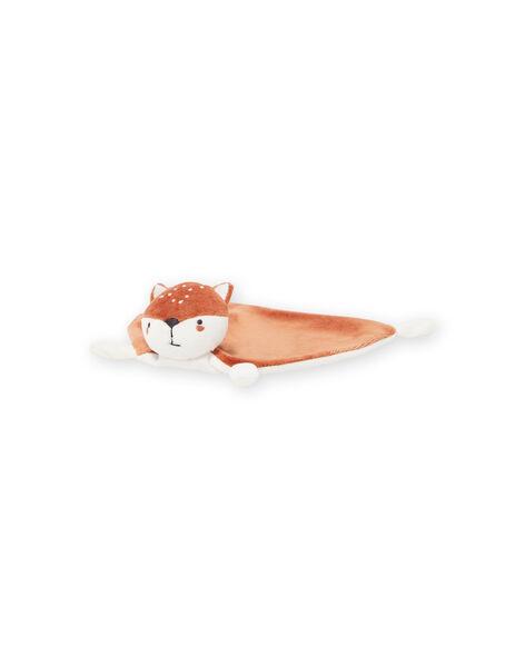 Two-colored fox teddy bear mixed birth MOU1DOU1 / 21WF4245JOU001