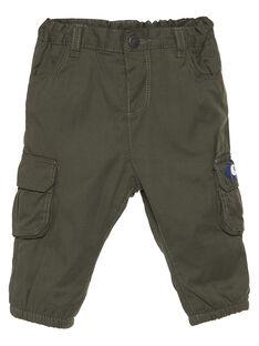 Green pants GUBRUPAN1 / 19WG10K1PANG631