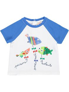Baby boys' short-sleeved T-shirt CUMATI2 / 18SG10U2TMC000
