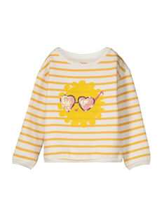 Girls' fancy sweatshirt FALISWEAT / 19S90121SWE099