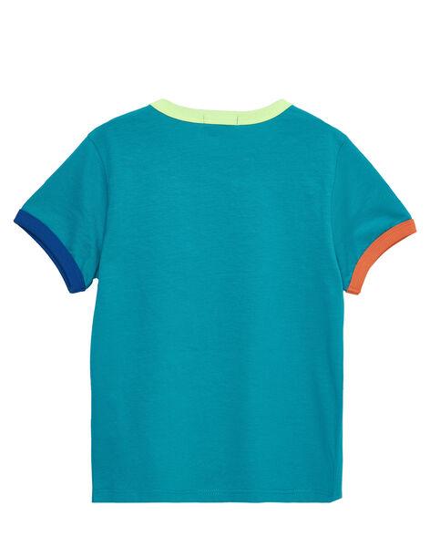 Blue T-shirt JOMARTI1 / 20S902P3TMCC242