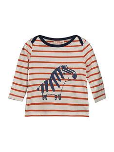 Baby boys' long-sleeved T-shirt FUBATEE2 / 19SG1062TML099