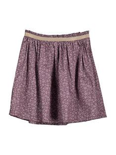 Girls' fancy skirt FAJOUJUP1 / 19S901T1JUP099