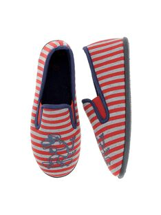 Boys' slip-on slippers CGSGDINO / 18SK36X2D0B050
