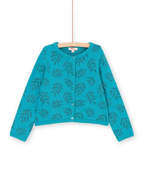Turquoise CARDIGAN LAVERCAR / 21S901Q1CARC216