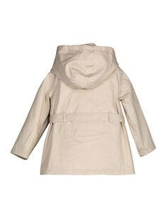 Beige Rain coat FACOIMPER1 / 19S901X1IMP080