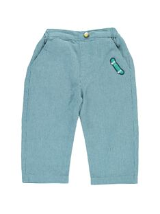 Baby boys' striped trousers CUHOPAN / 18SG10E1PAN099