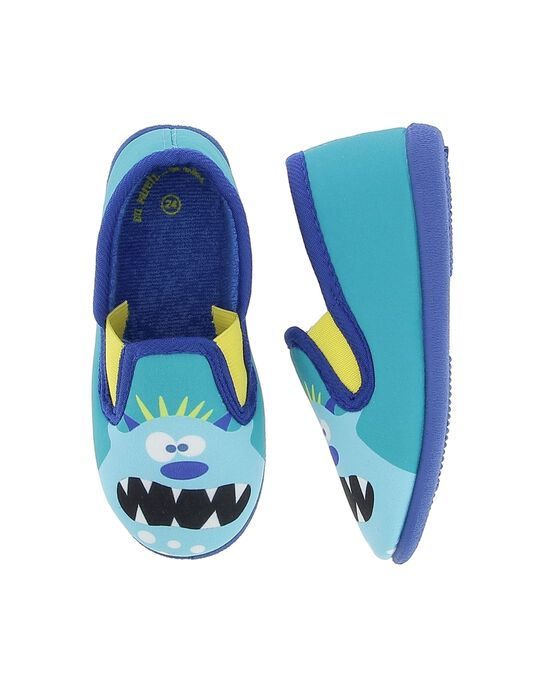 Turquoise Slippers CGSGBOUH / 18SK36X6D0B202