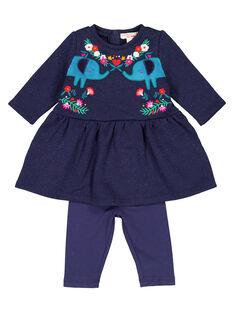 Baby girls' tunic and leggings set GIMUENS / 19WG09F1ENS070