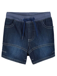 Baby boys' denim shorts FUJOBERMU6 / 19SG10G3BER704