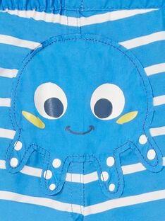 Blue and white bathing shorts baby boy LYUMER1 / 21SI10DEMAIC238