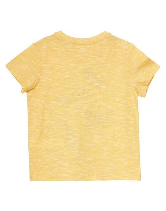 Light yellow T-shirt JOTROTI2 / 20S902F2TMCB116
