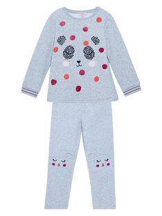 Heather grey Pajamas JEFAPYJDA / 20SH1127PYJ943