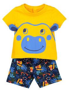 Baby boys' short pyjamas FEGAPYJUN / 19SH14H1PYJ402
