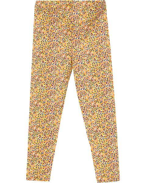 Yellow Leggings JYATROLEG1 / 20SI01F1CALB102