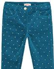 Navy pants GAMUPANT / 19W901F1PAN715