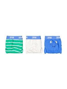Pack of boys' pants FEGOSLICRO / 19SH12I2SLIG619