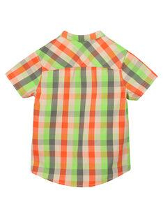 Boys' checked shirt FOYECHEM / 19S902M1CHM603
