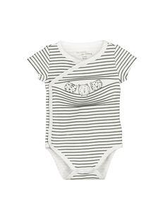 Unisex babies' short-sleeved bodysuit FOU2BOD3 / 19SF77J3BOD099