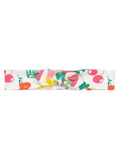 Baby girls' printed headband FYIYEBAN / 19SI09M1BAN099