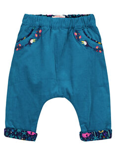 Baby girls' reversible trousers GIMUPAN / 19WG09F2PAN070