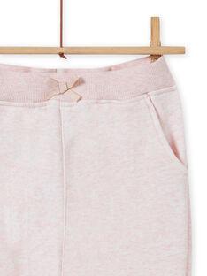 Girl's pink jogging pants MAJOBAJOG2 / 21W90111JGBD314