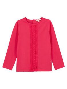 Pink Longsleeve T-SHIRT GAJOLTEE1 / 19W9014BD32D318