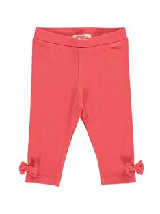 Baby girls' plain leggings CYIJOLEG9 / 18SI09S1CALF515
