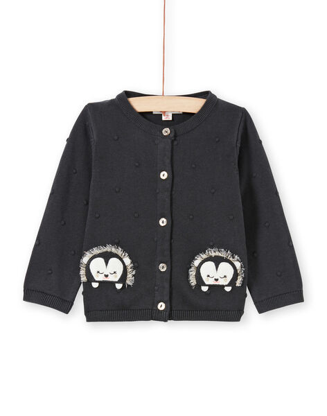 Baby girl anthracite vest LIPOECAR / 21SG09Y1CARJ916