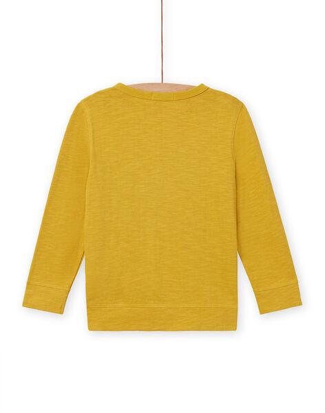 Golden yellow T-SHIRT MOKATEE2 / 21W902I3TML106