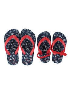 Boys? EVA ?beach? print flip flops FGTONGBEA / 19SK36G1D01070