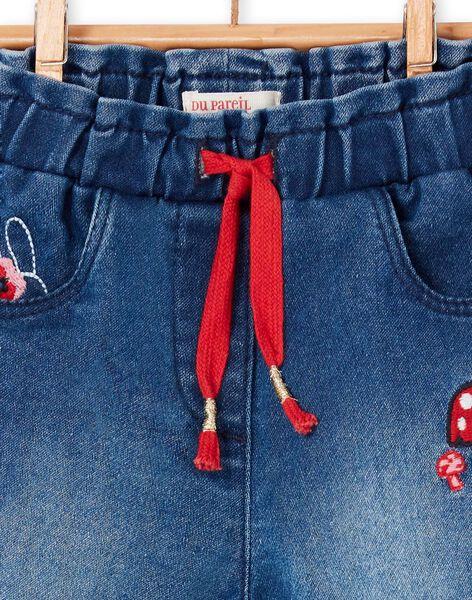 Baby girl blue jeans LIHAPAN / 21SG09X1PANP270