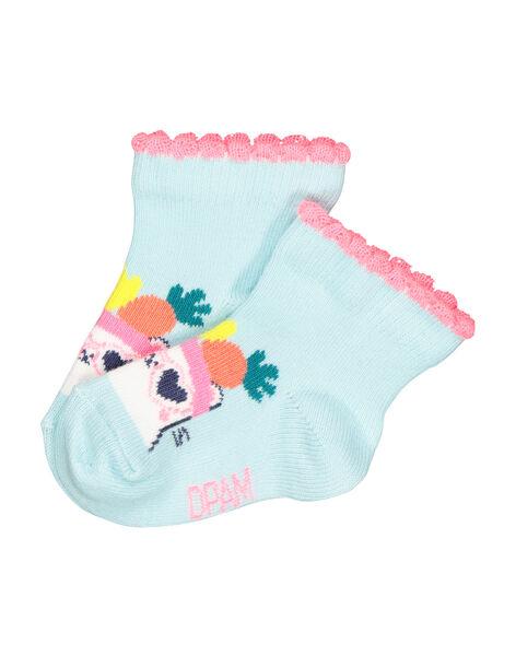 Baby girls' mid length socks FYICUCHO / 19SI09N1SOQ219