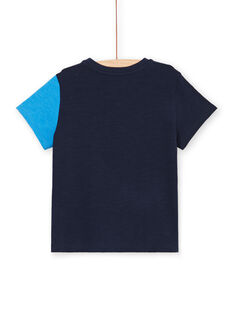 Navy blue and boy's blue T-shirt LOHATI1 / 21S902X2TMC705