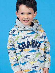 Sweat printed high collar child boy LONAUSWE / 21S902P1SWEJ922