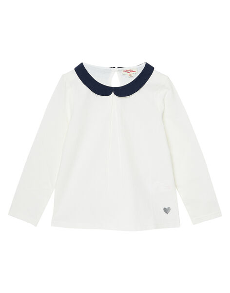 Off white baby blouse JAESBRA3 / 20S90162D3A001