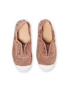 Baby boy beige sneakers LGTENBEIGE / 21KK3644D16080