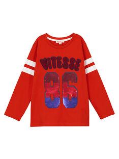 Orange T-shirt GOSANTEE2 / 19W902C1TML405