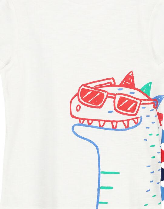 White T-shirt FOTOTI4 / 19S902L4TMC000