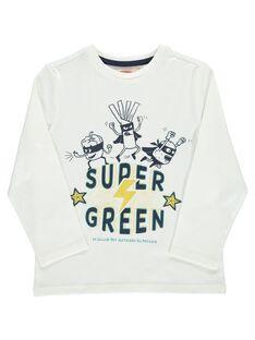 Boys' Super Green long-sleeved T-shirt DOVETEE2 / 18W90272TML001