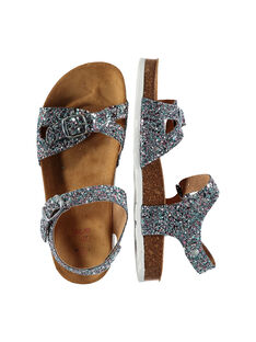 Girls? smart glitter sandals FFNULIGHT / 19SK35D8D0E956